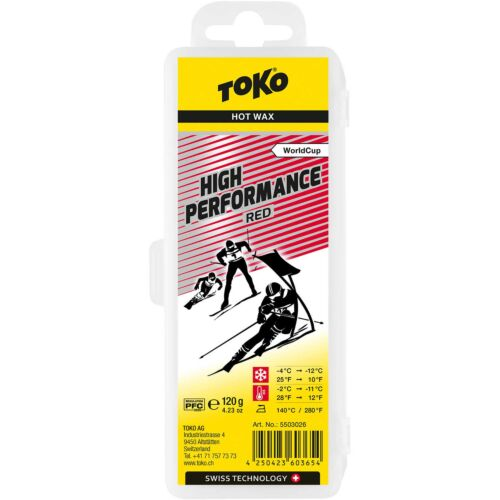 TOKO High Performance Red Wax 120g