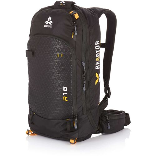 Arva Backpack Reactor 18L Compatible Black / Saffron