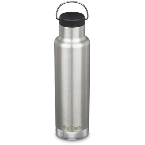 Klean Kanteen Classic Insulated Narrow 592ml / 20oz Brushed Stainless