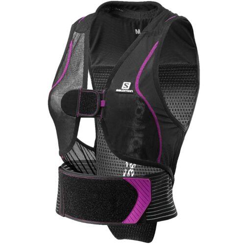 Salomon Flexcell Back Protectors Woman Black / Pink