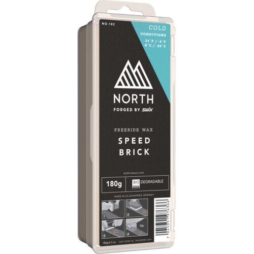 Swix NO-18C North Speed Brick Cold Wax  180G