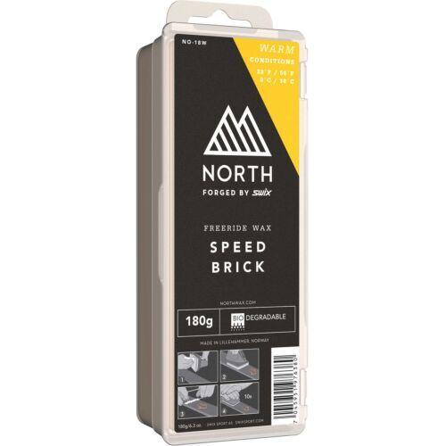 Swix NO-18W North Speed Brick Warm Wax  180G